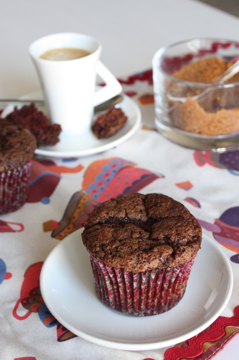 Magdalenes de xocolata - Bocins de Felicitat